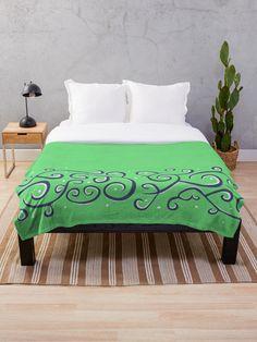 #throwblanket #coolblanket #original #design #elegant #pretty #pattern #unique #blankets #decor #home #bedroom #swirls Edge Design, Swirls, Dots, Couch, Blanket, Patterns, The Originals, Bedroom, Elegant