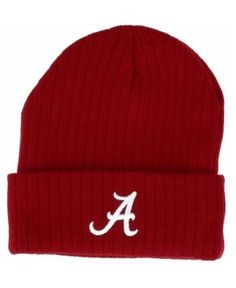 Top of the World Alabama Crimson Tide Campus Cuff Knit Hat - Red Adjustable