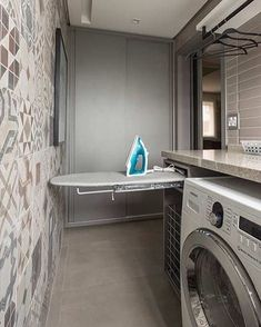 Pantry closet remodel bathroom ideas for 2020 Laundry Decor, Laundry Room Organization, Laundry Room Design, Laundry In Bathroom, Laundry Area, Tiny Closet, Pantry Closet, Modern Laundry Rooms, Closet Remodel