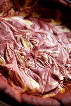 Flourless Red Velvet Marble Cake Recipe