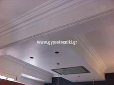 Οροφή γυψοσανιδας και γύψινα σε οικία στην Ακρόπολη. Home Decor, Decoration Home, Room Decor, Home Interior Design, Home Decoration, Interior Design