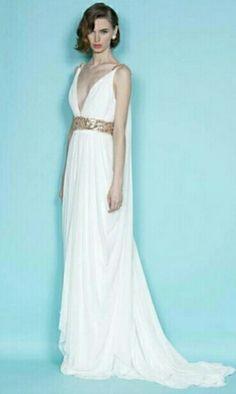An ancient greek wending dress!