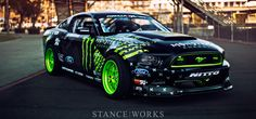 Wild Horses – Vaughn Gittin Jr's Monster Energy / Nitto Tire Formula Drift Mustang RTR