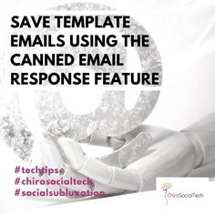 """Use the """"canned email"""" option to save a templated email allowing you to build more communication without the additional time needed.  I use this for personal demo responses webinar respones after demo response and I have other marketing ones I use with clinics I work with to send out an invite email to schedule a wellness event and review canned emails to ask the patient to give you a review. There a many options to brainstorm some that would be valuable to your clinic schedule a free…"""