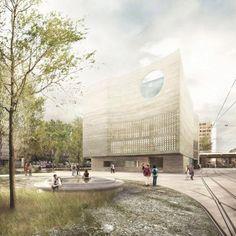 Primer Premio: Seacliff por Boltshauser Architekten.