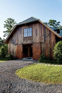 Go inside this bayou party barn. #gardenandgun #southernhomes