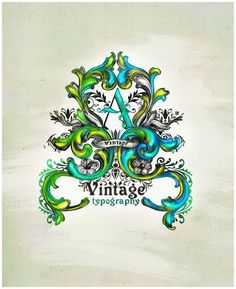 Vintage Typography Tutorial using Ornamental Styles from CreativeFan at http://design.creativefan.com/vintage-typography-tutorial/