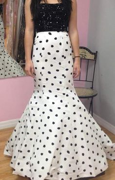 Sherri Hill's 2015 Prom Collection is now in-stock at So Sweet Boutique! Style 32148 is in-stock in Size 0 Black/White Polka Dot. Order at SoSweetBoutique.com or visit us at So Sweet Boutique in Orlando! #polkadots #polkadotdress #mermaiddress #sherrihill #sherrihill2015 #sherrihill2015collection #prom