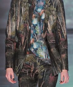 patternprints journal: PRINTS, PATTERNS, TEXTURES AND TEXTILE SURFACES FROM NEW YORK FASHION WEEK (WOMENSWEAR F/W 2015-16) / Nicole Miller
