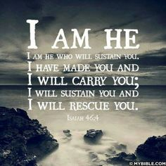 God is with you...