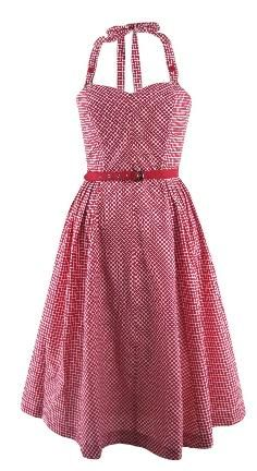 Emily and Fin Lizzie Dress Red