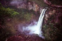 Os Saltos do Rio Preto são as mais impressionantes quedas da chapada