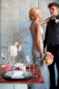 Photography: Heather Cook Elliott Photography - heathercookelliott.com Styling + Design: Tailored Engagements - tailoredengagements.com Floral Design: Marius Bell - mariusbell.com  Read More: http://www.stylemepretty.com/2012/05/18/milwaukee-mint-inspired-photo-shoot-by-heather-cook-elliott-photography-tailored-engagements/