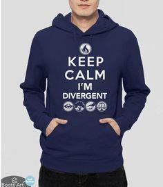 Keep Calm I'm Divergent (Hoodie)