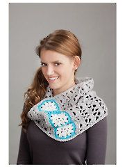 Granny Square Scarf & Cowl Crochet Pattern