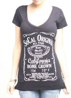 New products just in! So Cal Clothing B... is in stock now! Grab it here http://left-coast-threads.myshopify.com/products/so-cal-clothing-blinker-womens-black-scoop-neck-tee-shirt-ks7418j?utm_campaign=social_autopilot&utm_source=pin&utm_medium=pin  Join our rewards program, share & earn points!