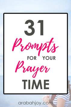 31 Prompts for Your Prayer Time - Arabah