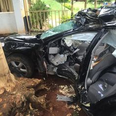 Photos from the fatal RACING accident in Abuja this morning