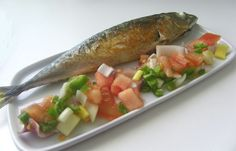 La caballa, plato estrella del verano en San Fernando o Cádiz / Mackerel, summer dish in San Fernando or Cádiz