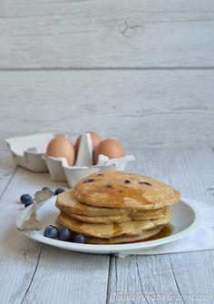 Chi ha rubato le crostate? : » Pancake integrali allo yogurt greco ( senza zucchero)