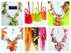 AZIN by Ladami Designs Spring/Summer 2015 collection Neon Jewelry, Spring Summer 2015, Color, Collection, Design, Colour, Colors