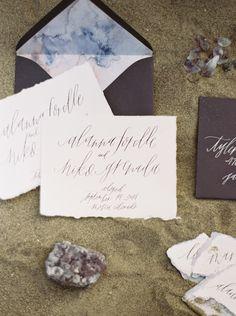 Desert dune organic wedding inspiration | Wedding Sparrow