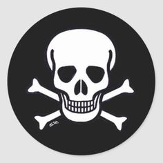 Skull n Bones Black small round black stickers   biker humor, dude wheres my car quotes, firework love quotes #bikerquotes #ridehard #bikersofinstagram, 4th of july party Biker Tattoos, Motorcycle Tattoos, Tattoos Skull, Motorcycle Tips, Halloween 4, Halloween Stickers, Harley Davidson, Biker Quotes, Car Quotes