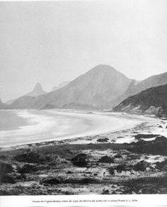 Copacabana - Rio de Janeiro - Brasil 1890 - Foto de Marc Ferrez