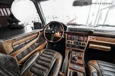 Carlex Design changes tastefully a G-Class of 1990. Specialized in the interior the craftsmen from Carlex Design come to amaze us again with their creations. The same time the patient is a Mercedes-Benz G-Class G463 in the body, manufactured in 1990, which went through the metamorphosis salon astounding.  We know that the boys from Carlex Design...