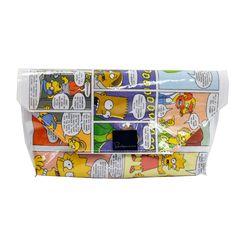 Kirjekuorilaukku - Simpsonit #rentodesign The Simpsons, Other Accessories, Diaper Bag, Handmade, Bags, Design, Handbags, Hand Made, Diaper Bags