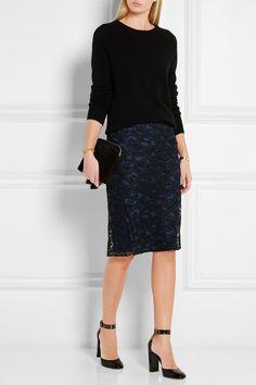 Diane von Furstenberg | Tiana guipure lace skirt | NET-A-PORTER ...