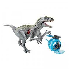 Jurassic World Indominus Rex vs. Gyro Sphere from Hasbro