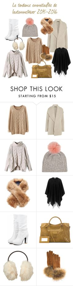 """""""Tendance emmitouflée Automne/Hiver 2015-2016"""" by audrey-guien ❤ liked on Polyvore featuring James Perse, Joules, L.K.Bennett, Balenciaga, Uniqlo and FRR"""