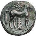 Carthage Zeugitana Second Punic War Hannibal 220BC Ancient Greek Coin i55804
