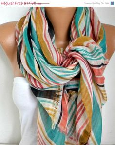 Hey, I found this really awesome Etsy listing at https://www.etsy.com/listing/92133753/spring-line-cotton-scarf-shawl-summer