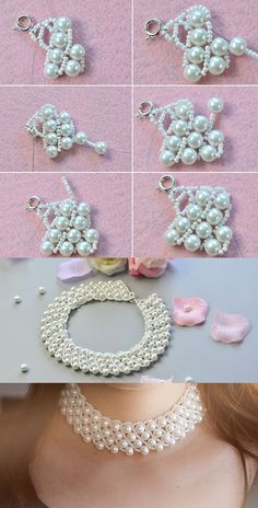 pearl bib necklace, like it? LC.Pandahall.com has shared us the tutorial.