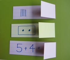 Foldable flash cards