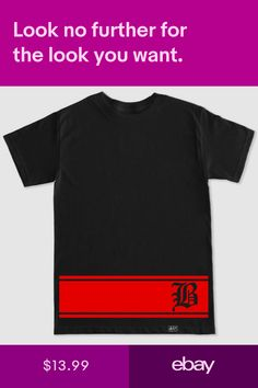 T-Shirts Clothing, Shoes & Accessories 4 Hunnid, Shirt Outfit, T Shirt, Custom Clothes, Rap, Hip Hop, Stripes, Clothing, Mens Tops