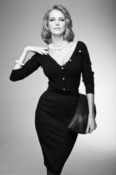 moda z lat 50