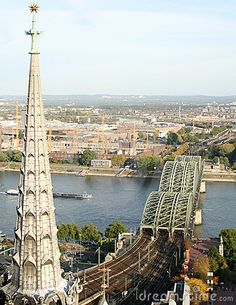 A View On Cities cologne | This is a city view of Cologne shot from the top of the Dom Cathedral