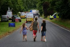 Anti-fracking protester at Balcombe drilling site