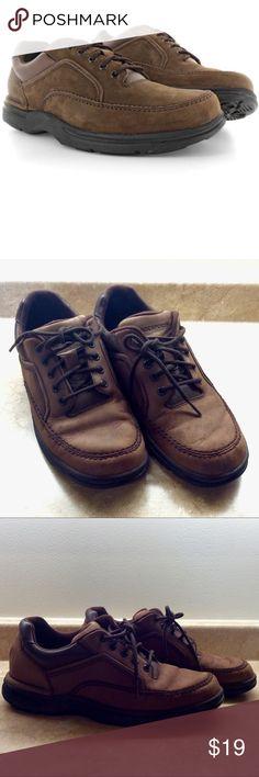 Mens Rockport Eureka Moc Toe Oxford, Chocolate Mens Rockport Eureka Moc Toe Oxford, Chocolate: Additional details coming shortly Rockport Shoes
