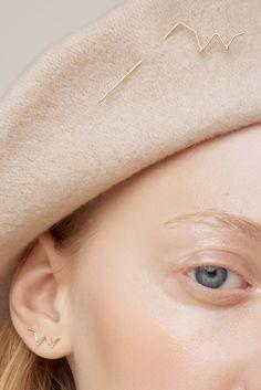 collection - just like a woman - Anna Lawska Jewellery / model - Kaja Werbanowska /photo - Kristof Krolak / make up - Paulina Kurowiak | @andwhatelse