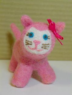 Karen Makes Stuff: Babies First Christmas Kitty