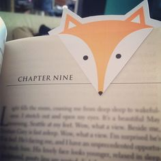 Love Love Love!!! PRINTABLES: FOXY BOOKMARKS