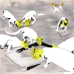Cats in Illustration: Gabriella Barouch