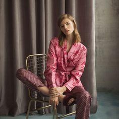 Kimono aus Seide mit Print - Nachthemden - Women's Homewear - Homewear   Zara Home Deutschland