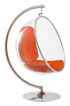 Hanging Bubble Chair — это стильное подвесное кресло, выполненное в виде половинки прозрачного шара, внутри кресло-пузырь имеет мягкую цветную вкладку, которую всегда можно заменить на другую. В нашем магазине они доступны в разных цветах. Внешне это элегантное кресло выглядит довольно хрупким, но материал, из которого оно изготовлено, очень прочный, так что опасаться за собственное здоровье в такой мебели не стоит. Прекрасно впишется в стильный современный интерьер. Кресло Hanging Bubble…