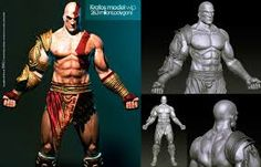Resultado de imagem para 3d model kratos