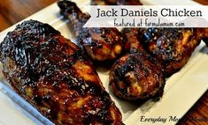 Jack Daniels Chicken #recipe Perfect for #memorialday cookouts!